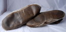 Seal Fur  Slippers with Beaver Trim.  Men's