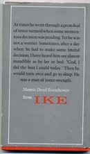 Ike, A Great American, Mamie Doud Eisenhower, Hallmark Edition 1972