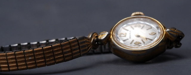 Vintage Benrus Ladies Wrist Watch  - Works!