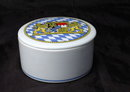 JOHANN WEIG BAVARIA  COAT OF ARMS ROUND  TRINKET BOX