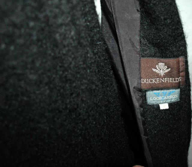 Mohair Opera Coat, Duckenfields Lochcarron woven in Scotland.