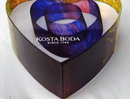Kosta Boda My Heart Glass Paperweight