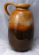 W. Germany  Fat Lava Scheurich Stoneware  Pottery Jug