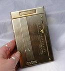 Vintage  Brass Telephone Address Index  File