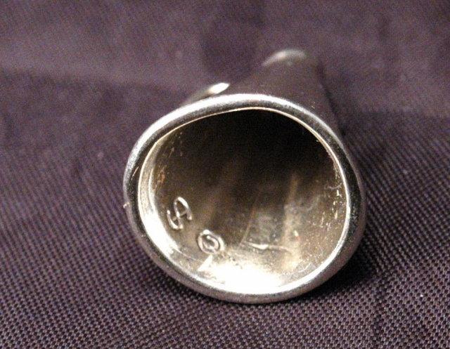 Large Sterling Silver Megaphone Pendant Charm