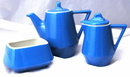 Hall China Blue White Railroad Dinning Car Coffee, Tea Service,Set