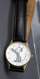 Felix The Cat Wrist Watch by Bright Ideas of SF CA 1889