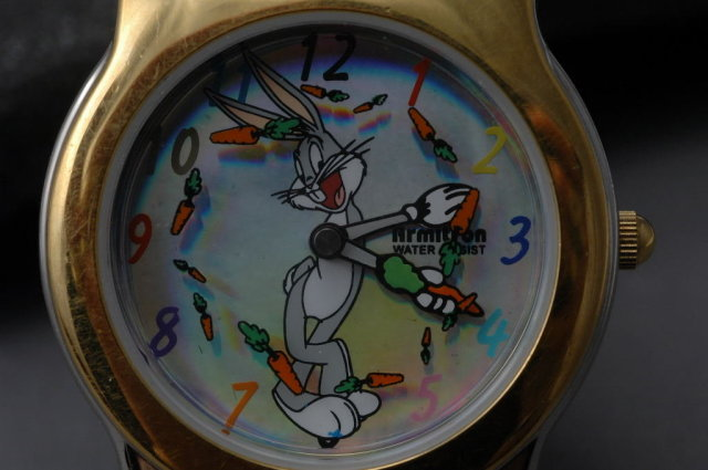 Bugs Bunny  with Rotating Carrots  Classic Collection / Warner Bros. by Amitron  RARE !