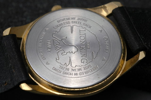 The Lion King Watch Mufasa and Baby Simba  by Timex