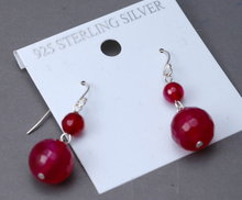Rubellite, Red, Tourmaline  & Sterling Silver Earrings   ** PRICE REDUCED!**