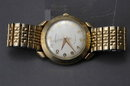 Vintage Hamilton Automatic Wrist Watch , Water Resistant,  Shock Resistant Lifetime Mainspring10k Bezel