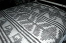 Hand Made Woven 100% Wool Blanket  Momostenango, Guatemala  84