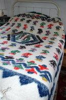 Hand Made Woven 100% Wool Blanket  Momostenango, Guatemala   Matrimonial Size