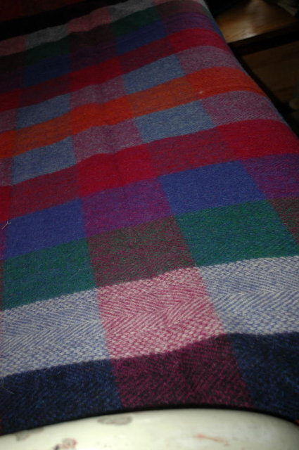 100%  Irish Wool  Millars Blanket Clifden Connemara  87