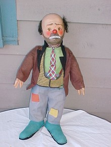 Vintage Emmett Kelly's Willie the Clown Doll