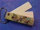 Jeweled Key Chain address book.  Rare & Unsusual  **Price Reduced**