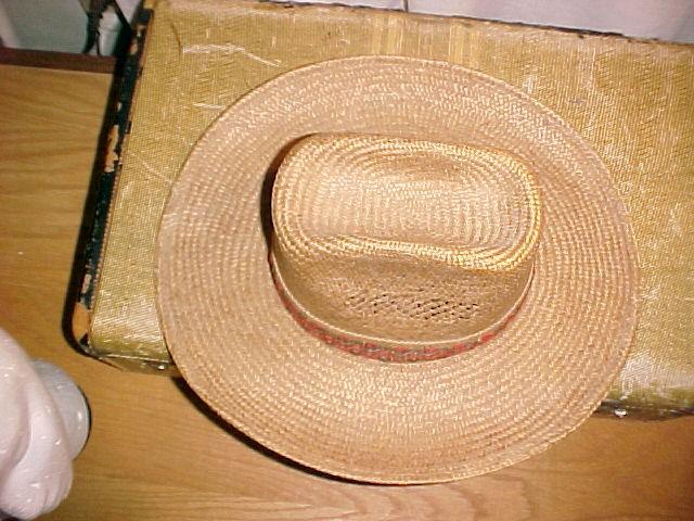Bailey U-Rollit Real Straw  Cowboy Hat
