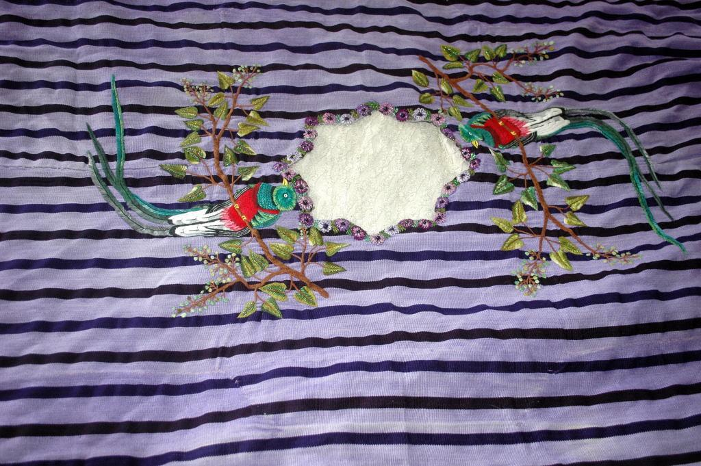 Hand Embroidered  Woven Huipil  Santiago Atitlán in Guatemala. **PRICE REDUCTION**!