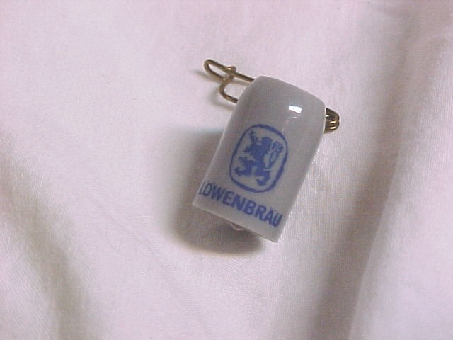 LOWENBRAU Tiny Beer Mug , Stein  Charm Pin