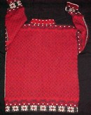 Exclusive Dale of Norway Red Sweater Pewter Clasps