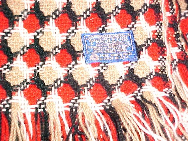 Pendleton Throw Blanket 100 % Virgin Wool