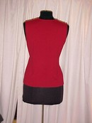 Drawstring Front  dark red Cashmere Sweater * PRICE REDUCED !**