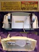 Bakelite Art Deco  Reading Lamp Light headboard reading lampshade bed light,