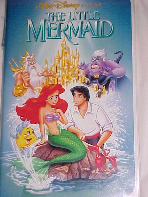 Walt Disney's Banned THE LITTLE MERMAID * FREE SHIPPING WITHIN THE USA*