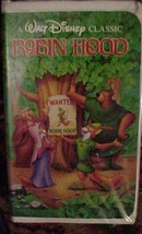 Walt Disney's Classic Robin Hood Video on VHS  FREE SHIPPING~WITHIN THE USA~