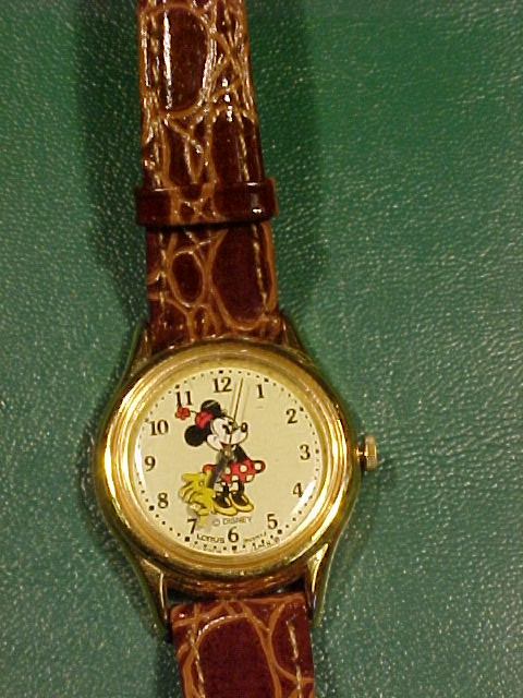 Minnie Mouse Watch Water Resistant for Disney