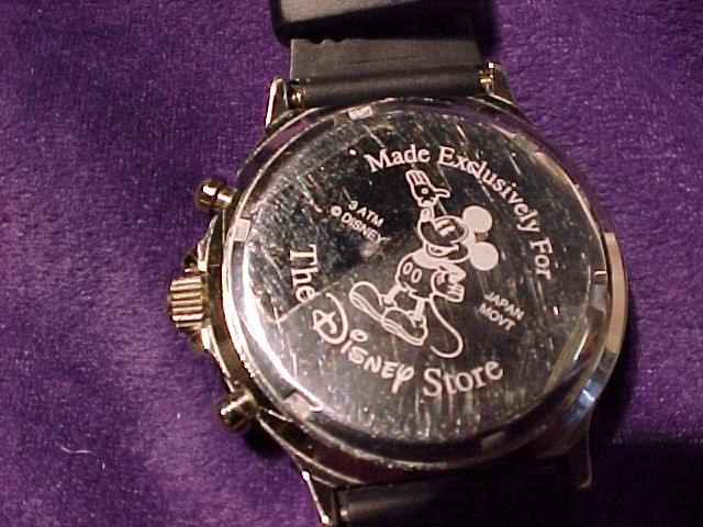 Mickey Mouse Chronograph Watch Unusual Big Face