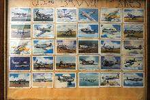 USA  Military War Plane Trade Cards  Cigaret  Premiums   35