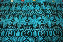 Vintage Guatemalan Hand Woven Fabric