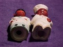 Vintage Black , Mammy or Maid & Chef Salt & Pepper Shakers...African American