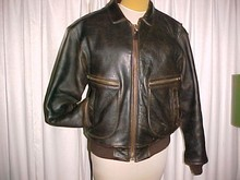 Bomber Flight Jacket Genuine G2 Avirex Leather