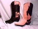 Donald J. Pliner Pink Brown Pony Hair Boots 8