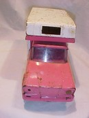 Vintage Tonka Truck, Camper  1960's  *well loved *