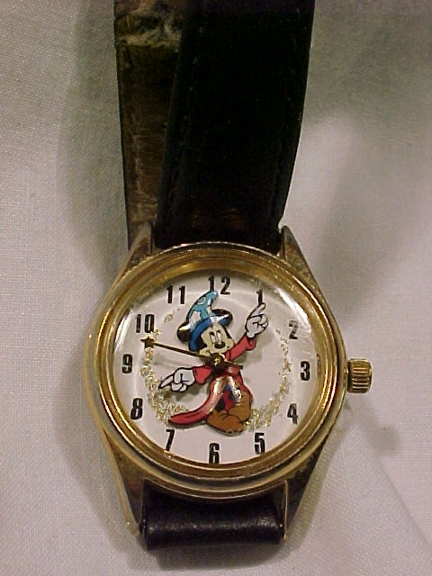 Vintage Mickey Mouse as the Sorcerer  Watch