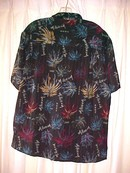 Millenium 2000 Shirt sz Med 100 % Rayon * PRICE REDUCED !**