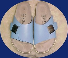Powder Blue Betula Birkenstock's Sandals sz 36   *PRICE REDUCTION!*
