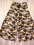 Retro Vintage Split Skirt -Gaucho Pants  **Price Reduced**
