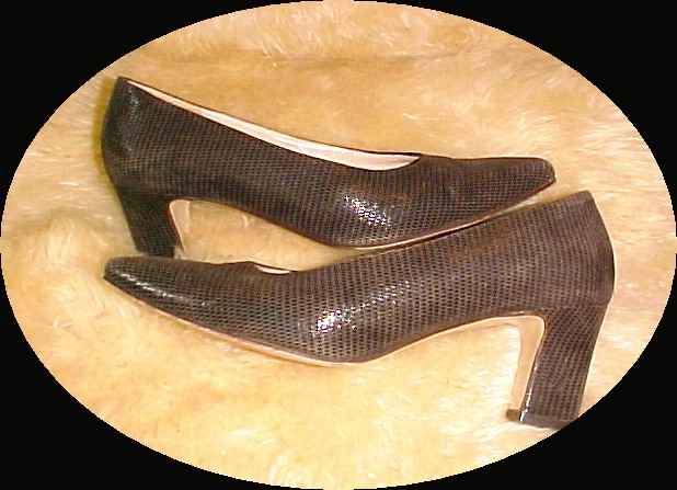 Rangoni Firenze Italia Reptile Pattern Brown  *PRICE REDUCTION!*