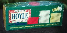 Vintage Plastic Hoyle Poker Chip in Original  Box