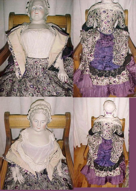 Martha Washington Artist sculptured doll 1940's