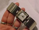Gloira Vanderbilt Wide bracelet band watch