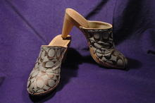 Authentic COACH High Heal CLOGS, SHOES, sz 8