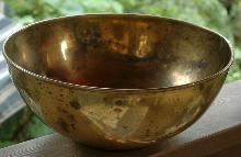 Large Brass Bowl