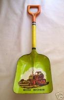 Vintage Tin Litho Ohio Art  Shovel