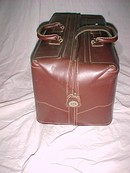Vintage Leather Brief Case or Travel Bag