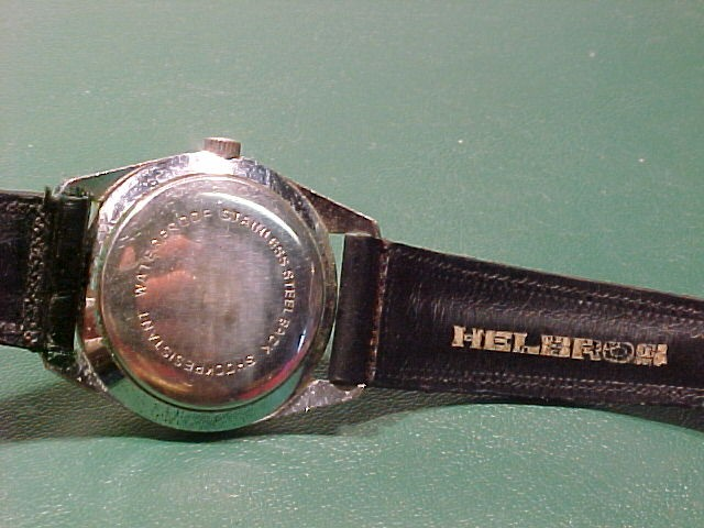 Vintage Self Winding Helbros Day & Date Watch